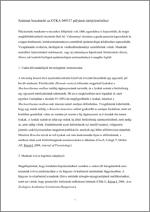 papilloma kapcsolat és paraziták)