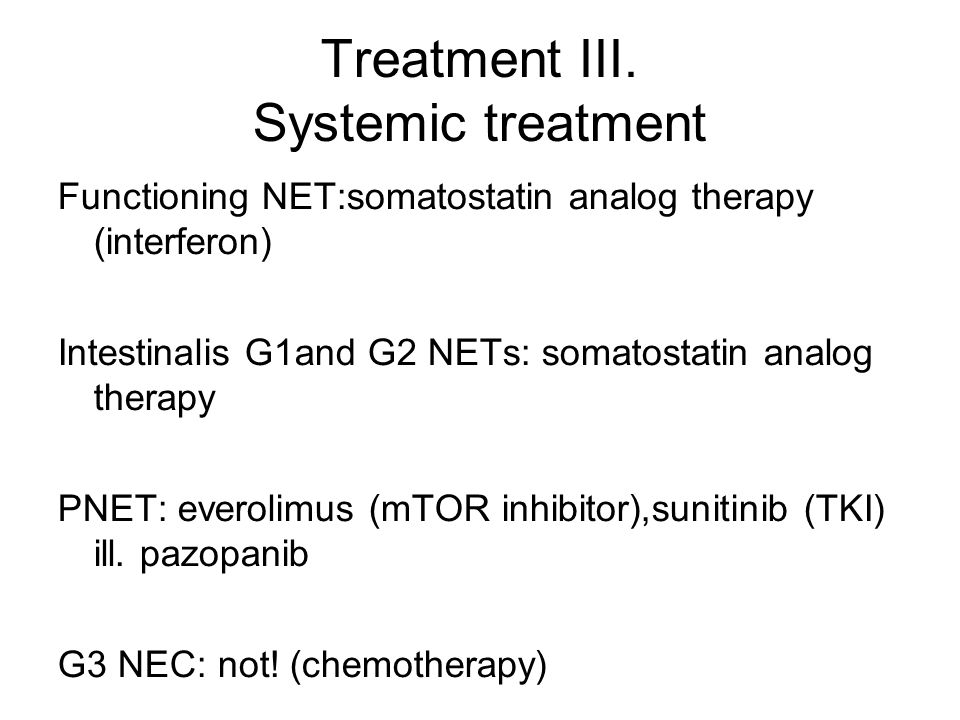 neuroendokrin rák g3)