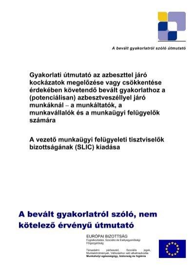 azbesztből származó peritoneális rák