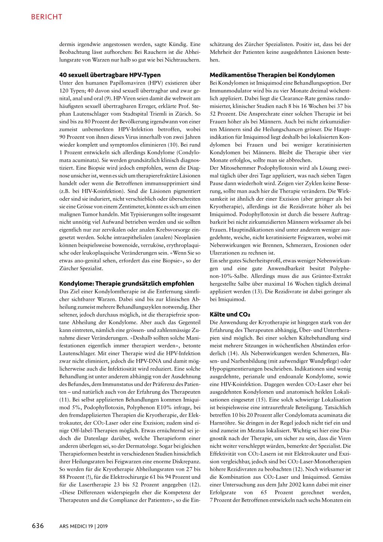 condylomata acuminata behandlung bei mannern
