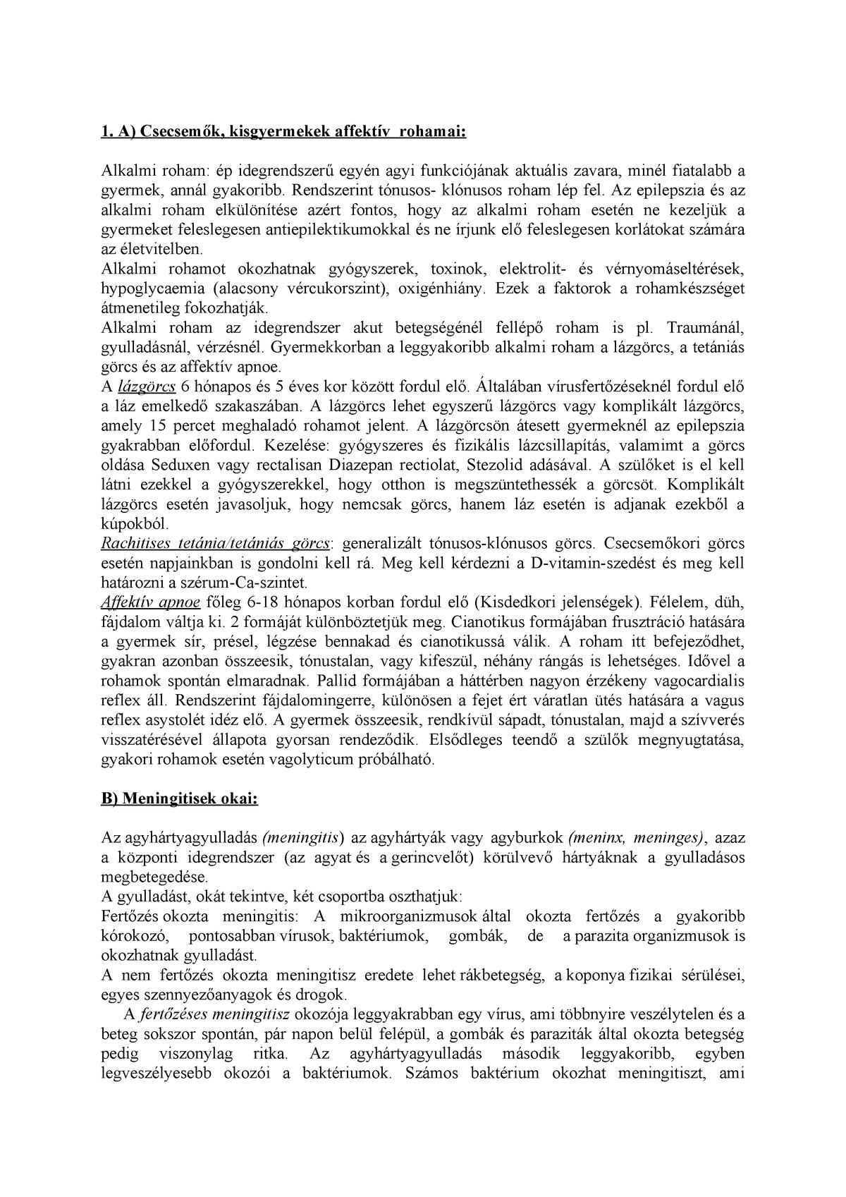 A toxinok meghatározása Tartalomjegyzék