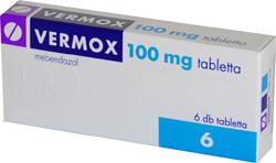 vermox tabletta gyermekeknek