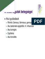 légzési papillomatosis ppt)