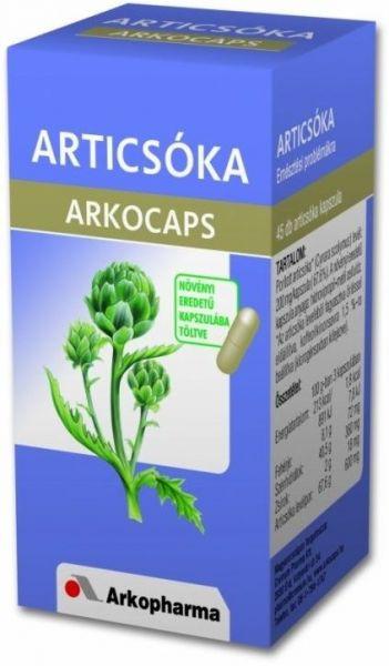 Arkocaps articsóka kapszula 40db