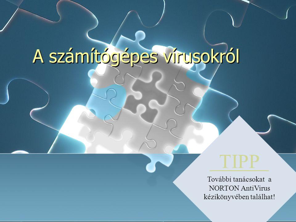 számítógépes vírusok és antivírusok)