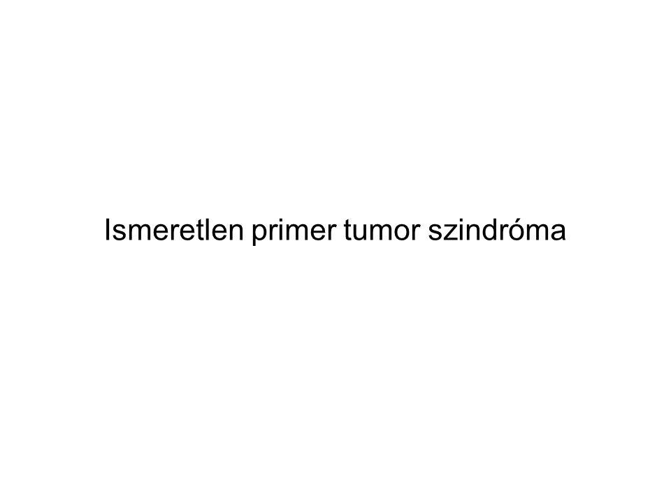 ismeretlen primer metasztatikus rák)
